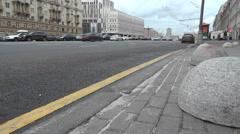 Moscow Sadovoye Koltso Stock Footage