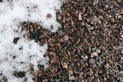 Abstract gravel background - stock photo
