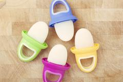 Breast Milk Popsicles for Infants Stock Photos