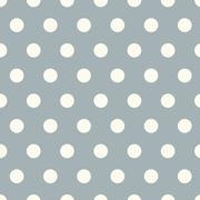Seamless polka dot pattern background Stock Illustration