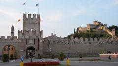 City of Soave, Verona Stock Footage