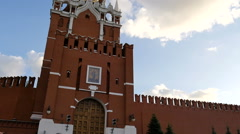 MOSCOW, RUSSIA, JUNE 23, 2016: Kremlin's Spassky Tower. Red Square - stock footage