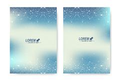 Modern vector template for brochure, Leaflet, flyer, cover, magazine or annual Stock Illustration