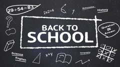 Back to School - stock after effects