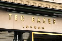 Paris, France - April 28, 2016: Ted Baker clothing storefront Stock Photos