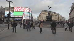 Piccadilly Circus - stock footage