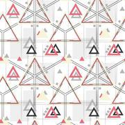 Vector seamless pattern. Modern stylish texture Stock Illustration
