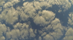 Billowy Cloud Formations Stock Footage