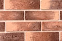 Brick wall in a close up Stock Photos