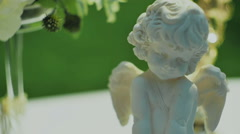 Statuette of Cupid Stock Footage