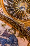 Jesus Mural Stock Photos