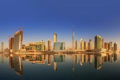 Business bay and downtown area of Dubai, UAE Kuvituskuvat