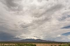 Cloud and Humidity in Desert Stock Photos