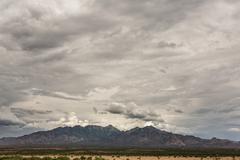 Mountain View in Monsoon Season Stock Photos