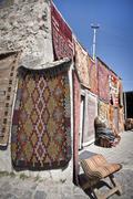 Turkish Rug Vendor Stock Photos