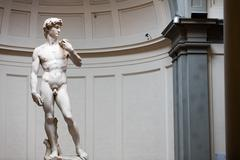 David by Michelangelo - stock photo