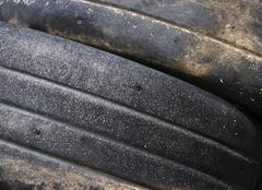 Discarded Racing Tires Stock Photos