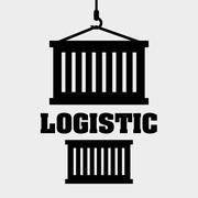 Logistic design. Shipping and Delivery conception - stock illustration