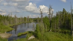 Time-lapse photography of picturesque nature of Russia on the Yamal Peninsula Stock Footage