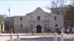 Alamo Time Lapse - stock footage
