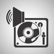 Music design. isolated illustration.entertainment concept Piirros