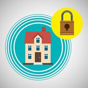 Home automation design. smart house icon. house concept, vector illustration Piirros