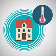 Home automation design. smart house icon. house concept, vector illustration Stock Illustration