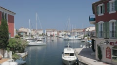 Port Grimaud, Saint Tropez Stock Footage