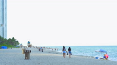 Sunny Isles Beach Florida Stock Footage