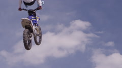 Action Sport Freestyle Motocross Stock Footage