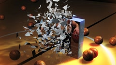 Basketball Intro FX - stock after effects