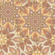 Seamless pattern. Vintage decorative elements. Hand drawn background. Islam - stock illustration