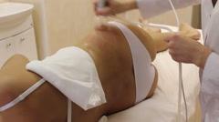 Vacuum Cellulite Massage Sides Stock Footage