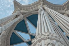 Column decorative arches Stock Photos