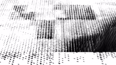 Digital pixel extrusion - Glitch 1025 HD, 4K Stock Footage - stock footage