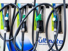 Petrol pump at petrol station, South Africa Kuvituskuvat