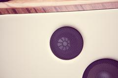 Car speaker detail Stock Photos