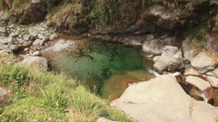 Dharamshala Valley Pond River Stock Footage
