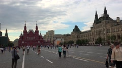 Red Square in Moscow. The main attraction of Russia. 4K. - stock footage