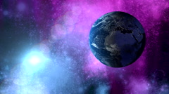 Deep space celestial background Stock Footage