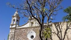 La iglesia time lapse Stock Footage
