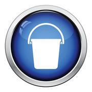 Icon of bucket Stock Illustration
