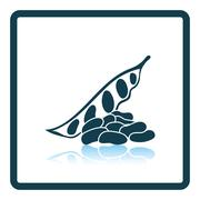 Beans  icon - stock illustration