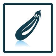 Eggplant  icon - stock illustration