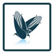 Corn icon Stock Illustration