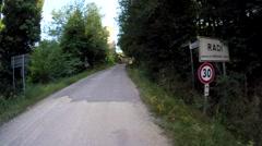 Leroica Castello Radi Gravel Stock Footage