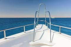 Nose yacht Stock Photos