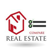 Real estate design. home concept. Property icon, vector illustration - stock illustration