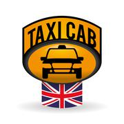 Taxi  design. cab concept. transportation icon Stock Illustration