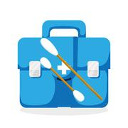 Medical care design. Health care icon. Isolated illustration Stock Illustration